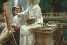 Oleos Singer Sargent