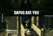 Any Soul game / Dark souls, Bloodborn and Demon Souls
