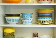 Vintage Glass / Pyrex,Jadeite, Milkglass, FireKing...etc