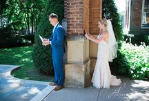 First Look - Bride & Groom Photography