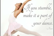 Dance and drama posters and quotes
