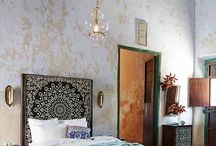 Bohemian vintage interiors