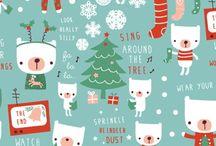 Kerstmis pakpapier