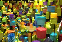 Bottles / Colorful bottles