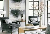 Grey Matters / Grey, the new neutral, is here to stay.   It can be warm or cool and always chic.