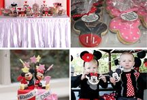Baby Siblings Party Theme Mickey/Minnie