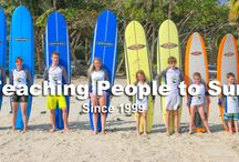 Surfing Costa Rica Pura Vida / Our goal at Surfing Costa Rica Pura Vida is to make sure that our guest never walk away disappointed. You will know what it is like to surf the coast of Santa Teresa as it was intended through the knowledge of local instructors.