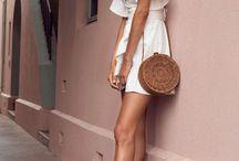 {Fashion} vestido blanco