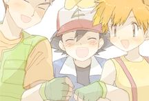 Ash, Misty and Brock <3