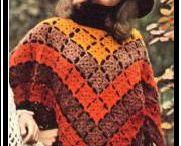 Sjaals en Poncho's haken en breien