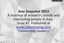 Asia Snapshot / This is a bi-annual mashup of some of the most interesting research from around the region and occasionally beyond. It also highlights some of the people that Callum and the team think are doing cool stuff in the hood.