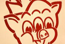 PROK-age by Dirka Dir:  Funky Street Art / Rebekah Jacob Gallery | rebekahjacobgallery.com