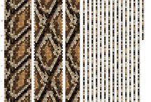 Схемы вязания бисерных жгутов