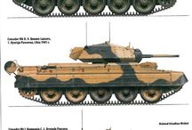 WWII Tanks - Crusader