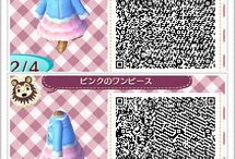 Animal Crossing New Leaf / Mostly QR Codes