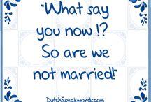 Dutch english......