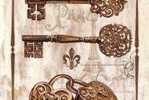 ключи замки