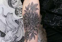 Tatuaje De Dalia