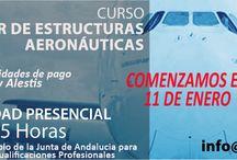Formación Aeronáutica / Curso de Fabricación de Materiales Compuestos Aeronáuticos Curso de Montaje de Estructuras Aeronáuticas
