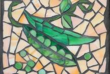 Veggie mosaics