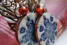 Gandre - Other resin earrings