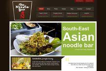 Restaurant Site Designs / by Drew Beamer Design