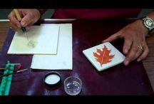 Porcelain Painting tutorials