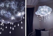 Cool DIY Snowing Cloud Lamp