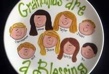 GIFTS / paint your own pottery, grandparent, wedding, valentines, anniversary,