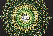 Dot paintings