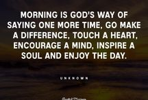 Morning! - a new opportunity that God has spared me
