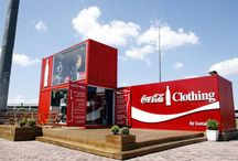 Shipping containers activation / Examples of original and very cool marketing experiential activation using various sizes of recycled shipping containers.