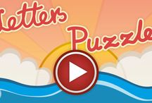 Puzzles to learn English Alphabet for Toddlers and Preschool Children / Puzzles to learn English Alphabet is an educational app for kids to learn letters and first words. This is calm puzzle game that will help your child to learn English alphabet.