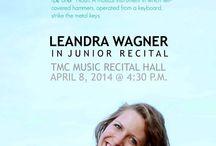 Senior Recital Poster / by Amanda Zasada