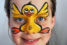 face painting -animals