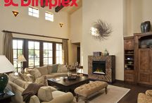 #FurnitureFridays / Pictures and design ideas from our furniture line of beautiful electric fireplaces with surround mantels and within media consoles.  / by Dimplex