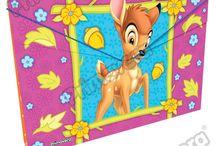 Carpetas Bambi / Línea Escolar Primavera Regresa a Clases con TODO