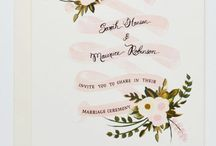 Wedding Invites / Wedding paper / by The Lovely Nest