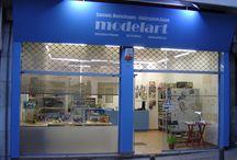 modelart shop / Images about the shop