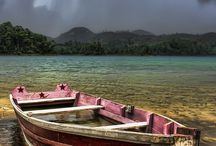 Boats, Canoes and Sailboats