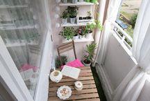 balkon / erkély
