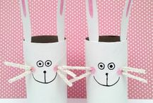 toilet paper roll things / marjolaine tougas / toilet paper roll things