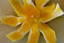 Orange flower / Stuff that I like.