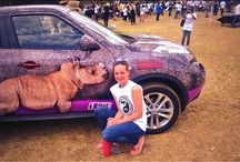 The Rhino Orphanage Nissan Juke Joins the Global March for Elephants and Rhino