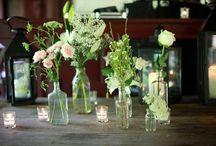 Vintage vases & bottles