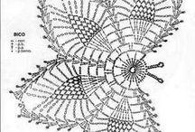 mariposas crochet