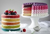 Layer Cakes - Round & Loaf / This shape cake is made by using our Wilton Layer trays.  We have both round and loaf in stock.