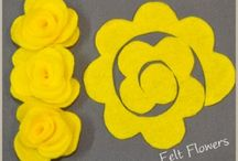 DIY Flowers / Tons of ideas and inspiration to make your own DIY Flowers for hair bows, dresses, and accessories