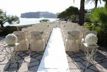 New Venue - Elegant Private Terrace wedding in Dubrovnik, Croatia / Our Elegant Private Terrace wedding venue is by far one of the most romantic locations you could have your ceremony and reception dinner at.
