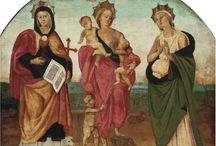 Faith, Hope & Charity / Personification of the Virtues: Faith, Hope and Charity (Wiara, Nadzieja i Miłość).